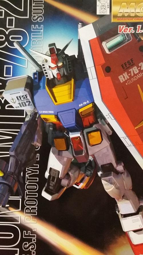 MG 1/100 RX-78-2 ガンダム Ver.1.5 制作|ガノタな父のブログMK-②