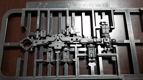 MG 1/100 RX-78-2 ガンダム 脚のパーツ解説その1|ガノタな父のブログMK-弐