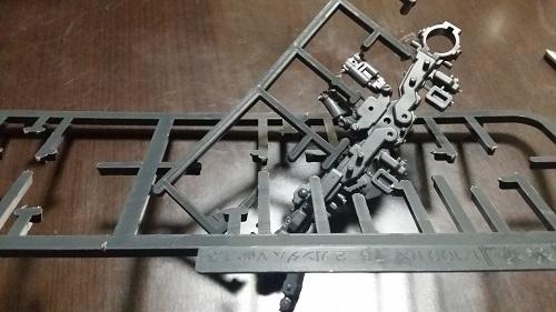 MG 1/100 RX-78-2 ガンダム 脚のパーツ解説その2|ガノタな父のブログMK-弐