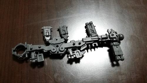 MG 1/100 RX-78-2 ガンダム 脚のパーツ解説その4|ガノタな父のブログMK-弐