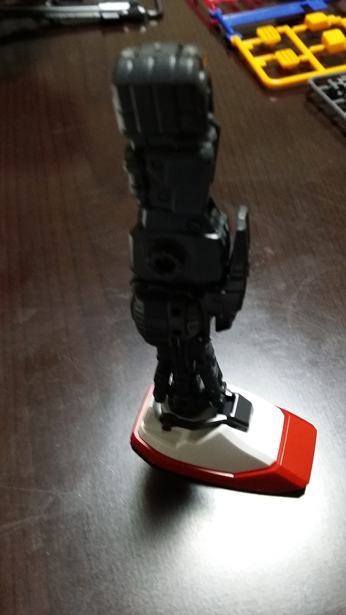 MG 1/100 RX-78-2 ガンダム 脚のパーツ解説その8|ガノタな父のブログMK-弐