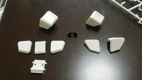 MGガンダムver1.5 ショルダーパーツ その1|ガノタな父のブログ