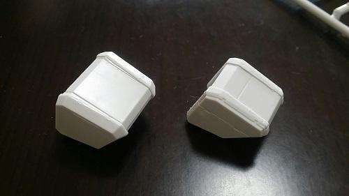 MGガンダムver1.5 ショルダーパーツ その2|ガノタな父のブログ