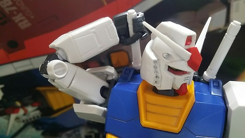 MGガンダムver1.5 ビームサーベル その1|ガノタな父のブログ