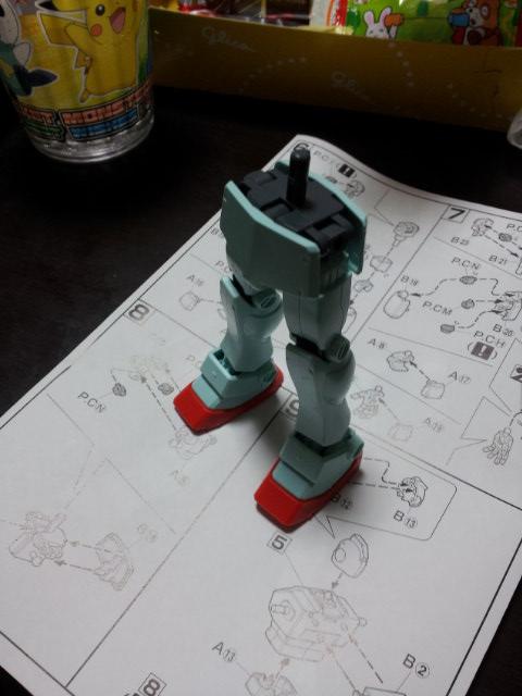 HGUC 1/144 RGM-79 ジム 腰部