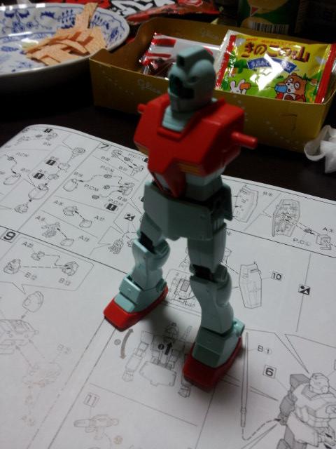 HGUC 1/144 RGM-79 ジム 頭