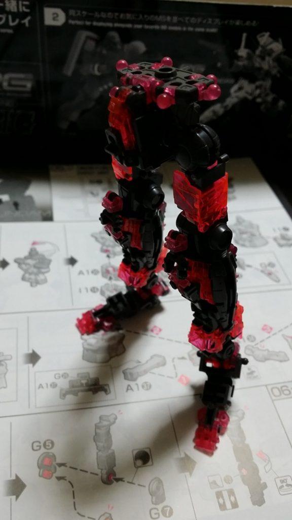 RG(リアルグレード)ユニコーンガンダム サイコフレーム組み立て 下半身 ガノタな父のブログMK-弐