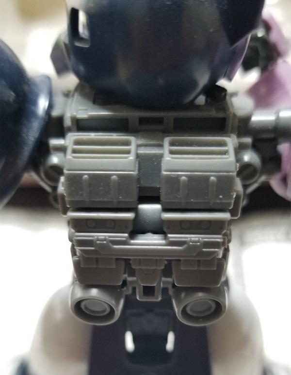 バックパック ランドセル 外装 旧ザク(黒い三連星モデル)作成レビュー ガノタな父のブログ