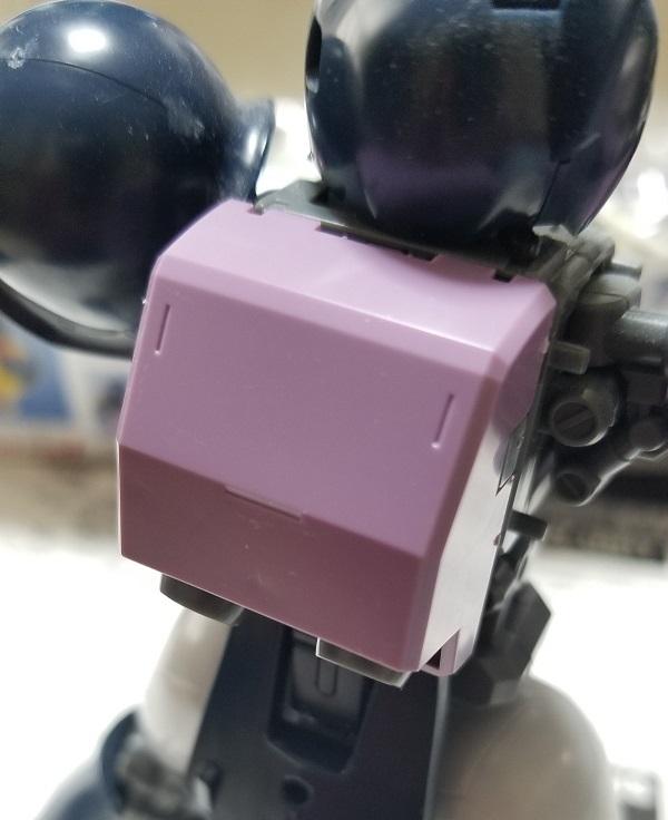バックパック ランドセル 旧ザク(黒い三連星モデル)作成レビュー ガノタな父のブログ